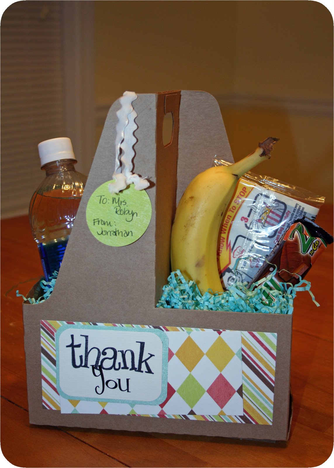 Creative ideas for teacher appreciation week may 7 11 i love this idea from women living well blog cute and simple my kind of gift negle Choice Image