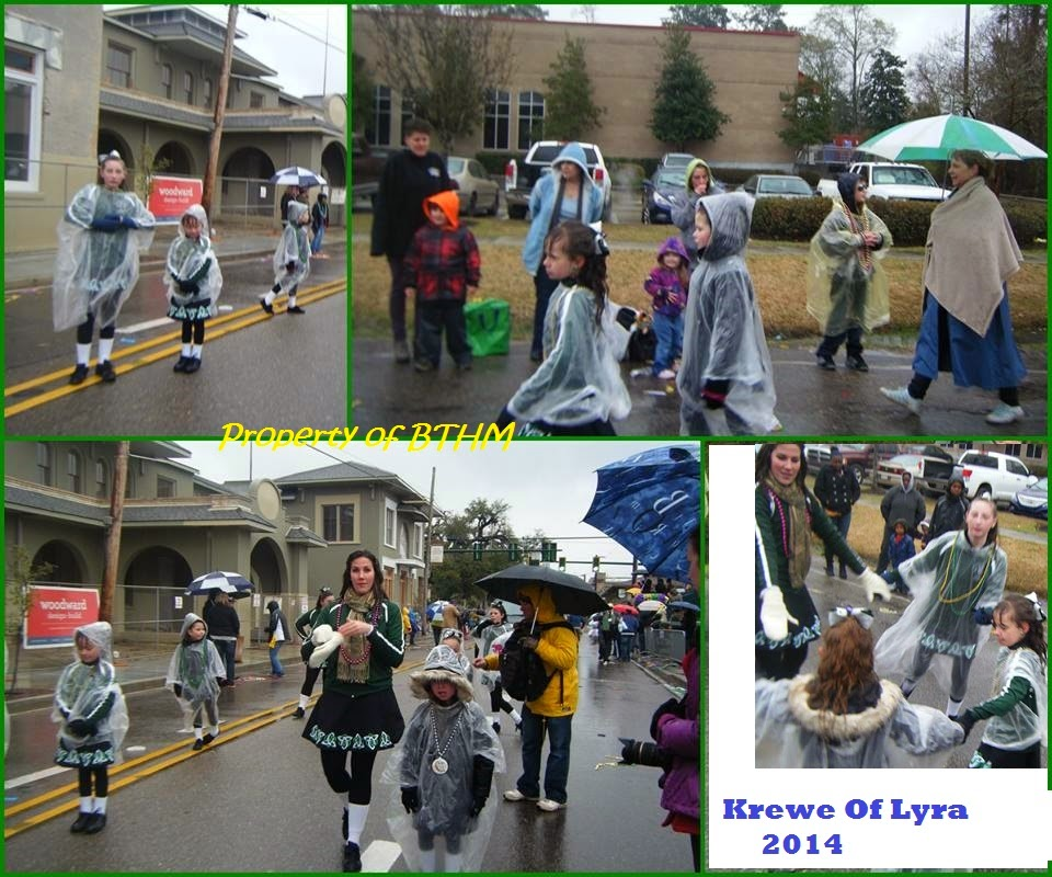krewe of lyra parade collage
