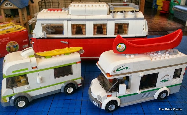LEGO Camper Van collection Campervan Motorhome review