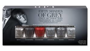 Vernizes inspirados no filme Cinquenta sombras de Grey