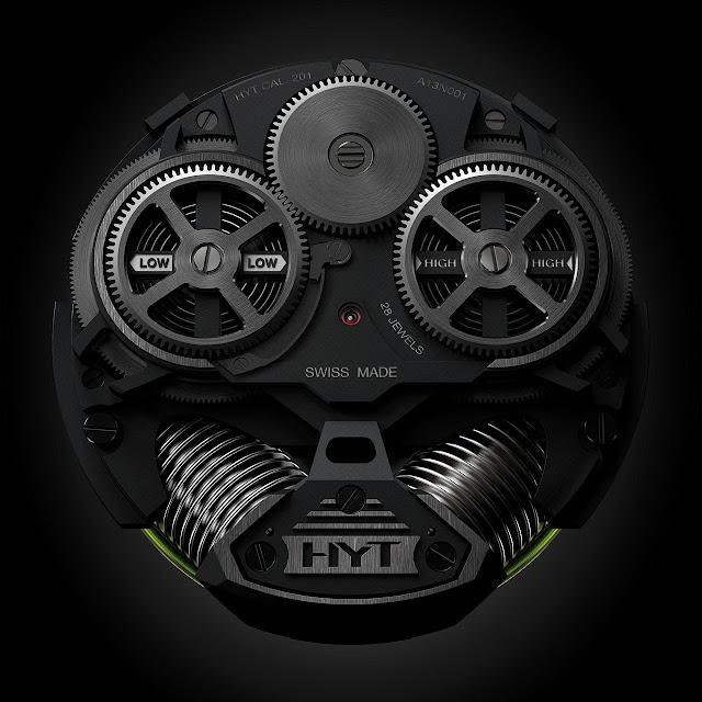 HYT H2 Watch machine