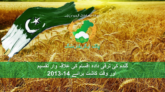 wheat varieties for cultivation in pakistan 2013-14 article in urdu
