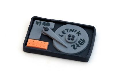 Disk iz tičino mase - Disk from fondant
