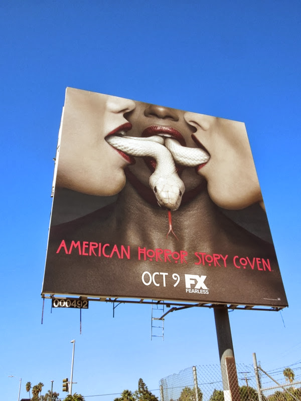 American Horror Story Coven billboard