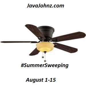Enter to win a Hampton Bay Lynwood 52 in. Indoor Ceiling Fan. Ends 8/15