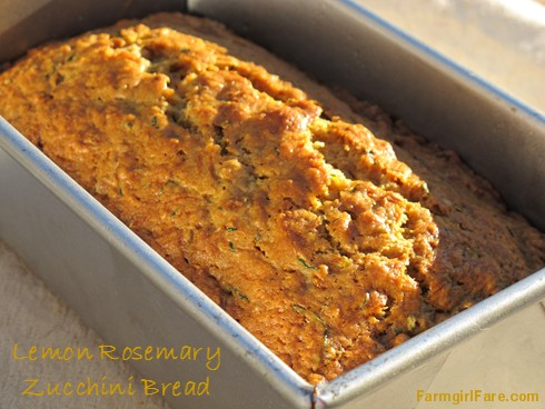 Lemon Rosemary Zucchini Bread Recipe — Dishmaps