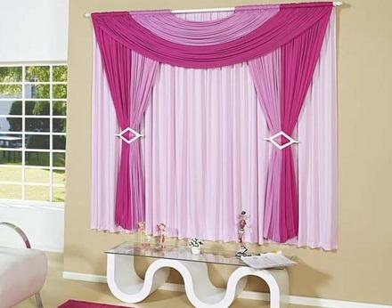Carolina cortinas e persianas cortinas com bando - Tipos de cortinas modernas ...