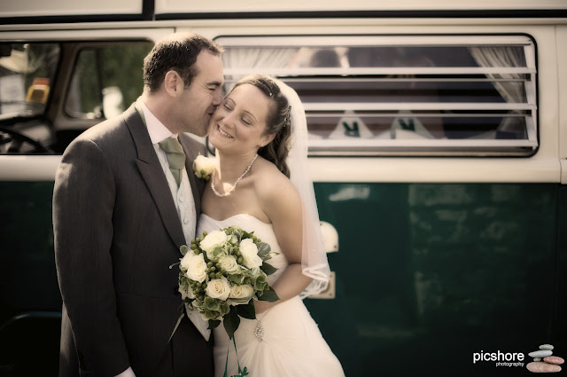 campervan hire cornwall wedding picshore photography