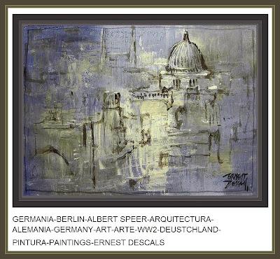 ARQUITECTURA-CIUDADES-ALEMANIA-GERMANIA-PINTURA-ERNEST DESCALS