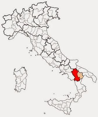 Provincia of Potenza.