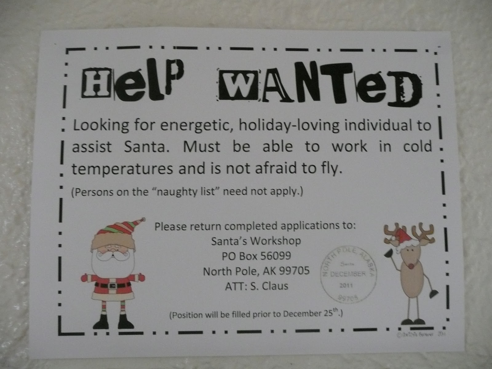 writing help wanted ads
