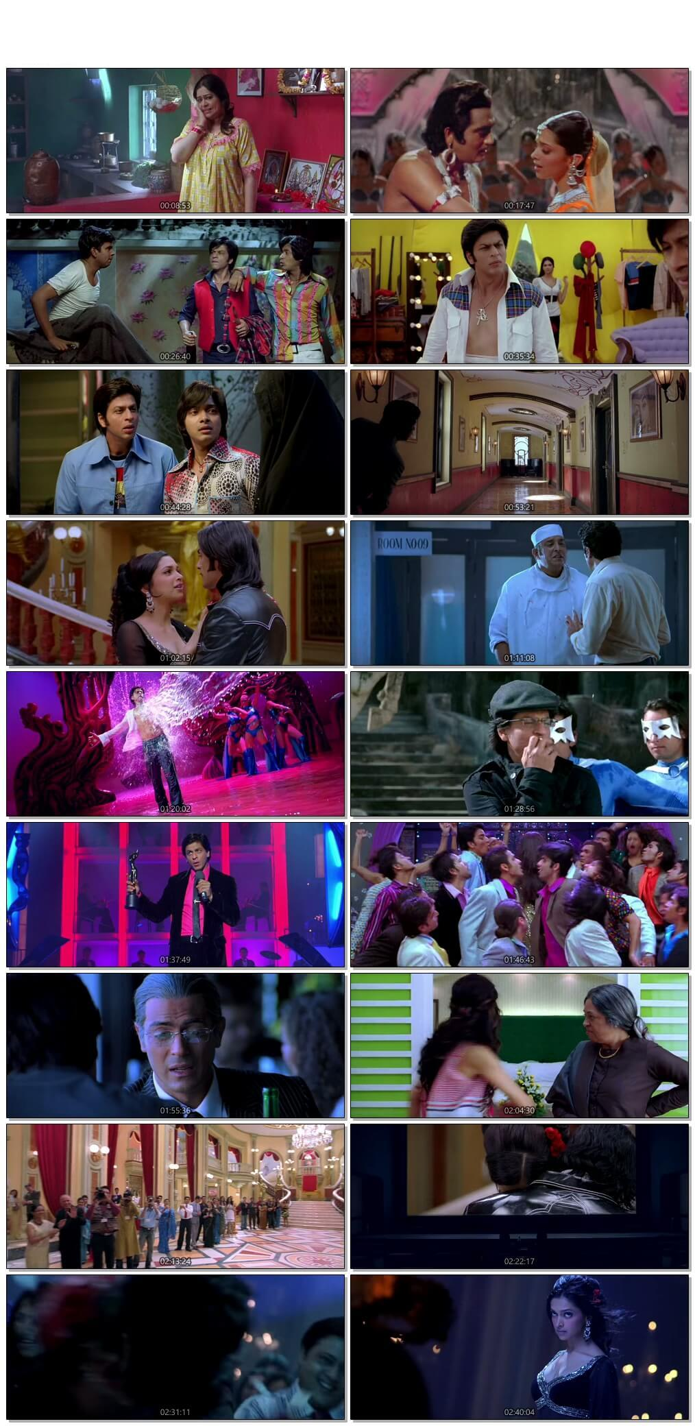 Screen Shot Of Om Shanti Om  2007 Full Movie Free Download HD 720P Watch Online