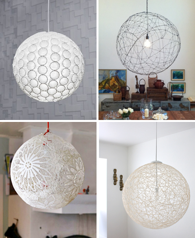 Diy pendant light tutorials how about orange links to the how tos faceted paper light from the 3 rs blog wire orb by orlando soria paper cup light shade at cut out and keep aloadofball Image collections