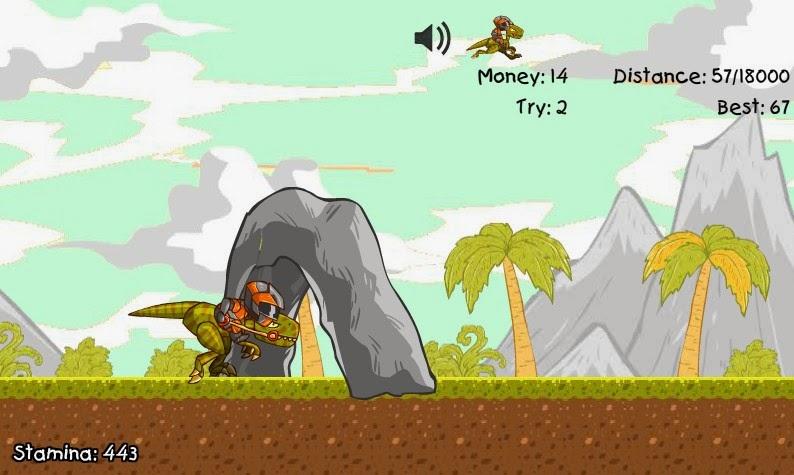 http://www.buzzedgames.com/crazy-raptor-rider-game.html