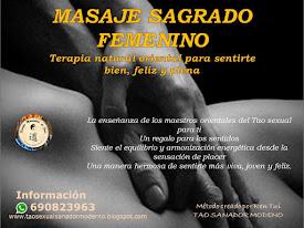 MASAJE SAGRADO FEMENINO