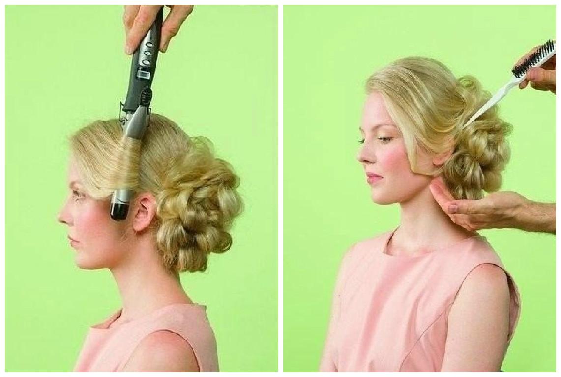 Peinado f cil y elegante paso a paso - Tutorial de peinados ...