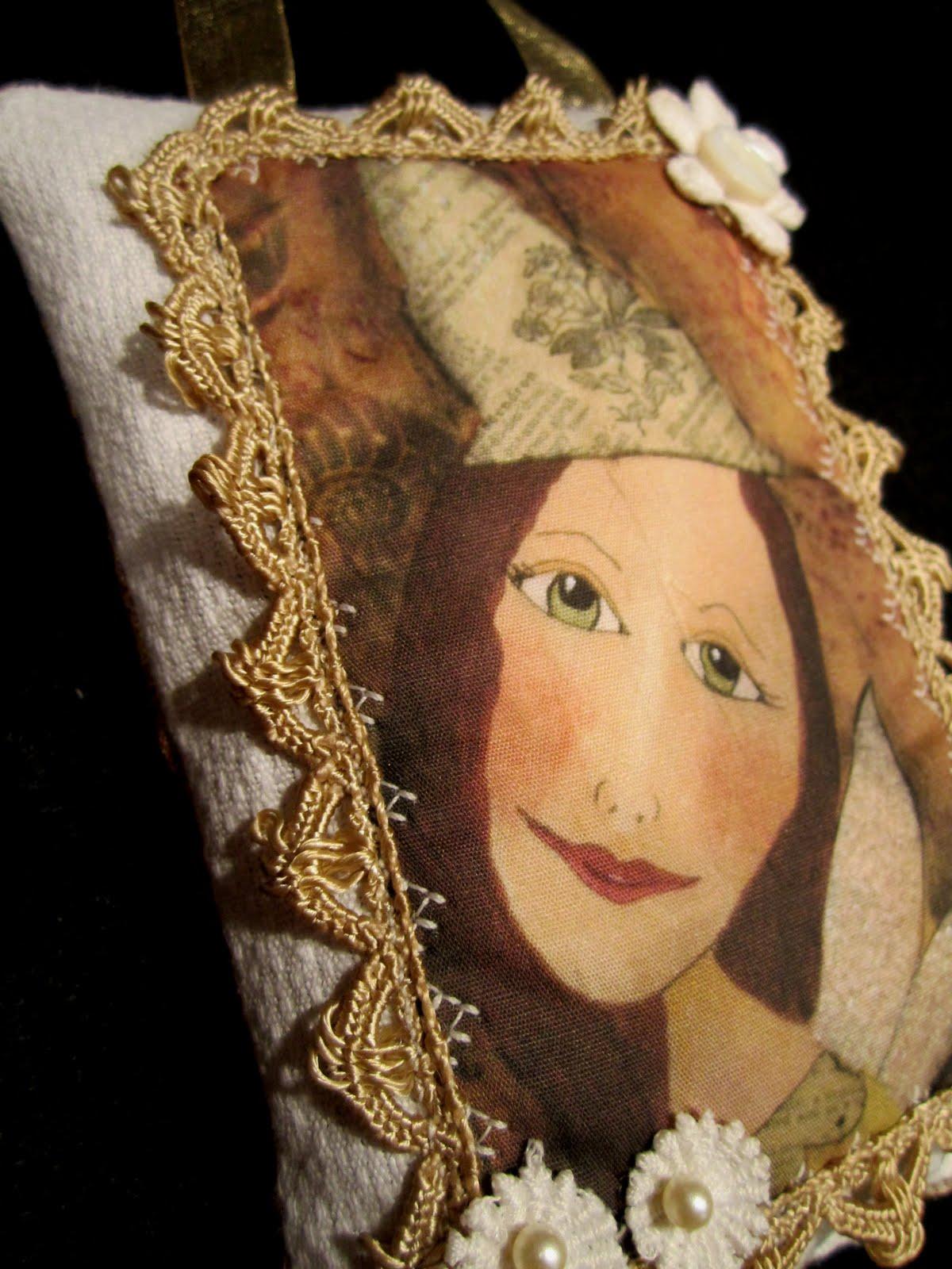 Victorian Sachet Pillows : Gollywobbles: Victorian Lavender filled pillow sachets
