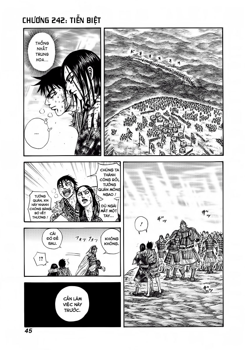 Kingdom - Vương Giả Thiên Hạ Chapter 242 page 2 - IZTruyenTranh.com