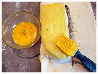 Roti en croûte feuilletée