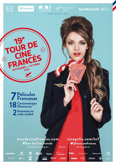 El 19° Tour de Cine Francés llega a nuestro país