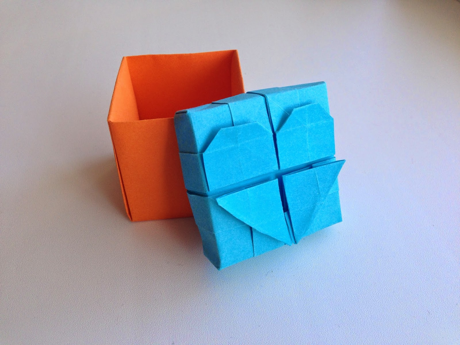 Как сделать из оригами книжку 155