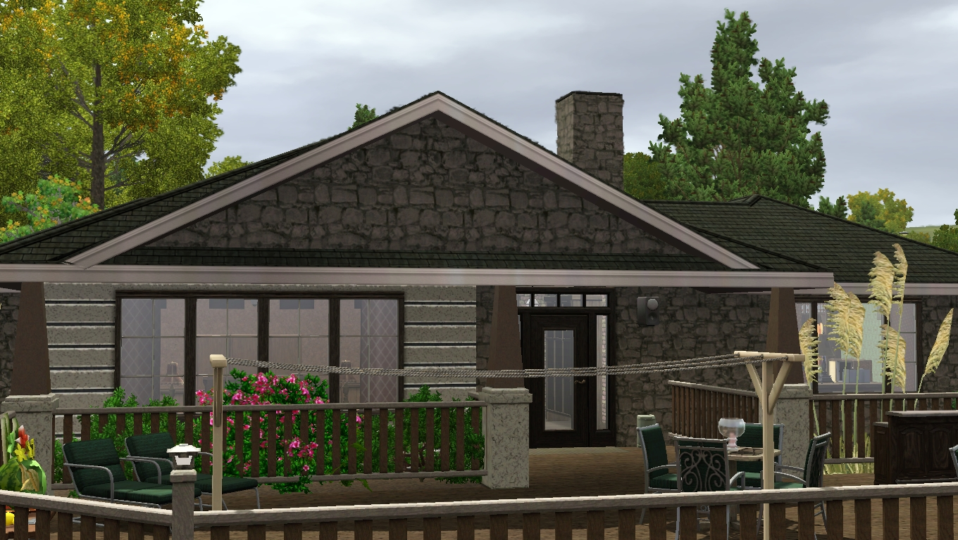 Sims 3 comfolife design studio shabby but charming home for 25x30 house plans