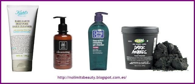 Limpiadores y exfoliantes para pieles grasas