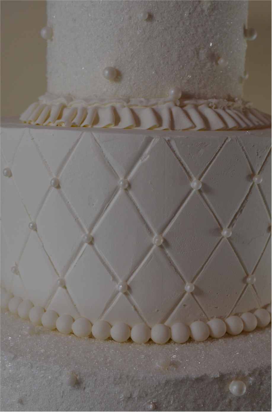Line Texture Cake : Texture on buttercream cakes