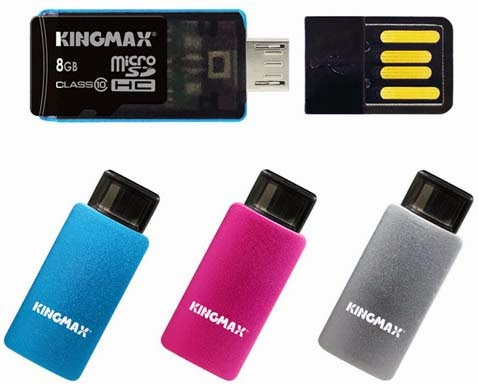 KINGMAX introduces PJ-01 and PJ-02 OTG USB