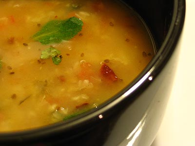 Fennel-Flavored Urad Dal Soup (Sada Urad Dal)