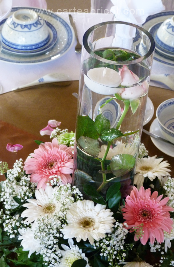 1000 images about mariage centre de table on pinterest - Vase plat centre de table ...