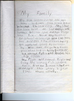 importance of my family essay