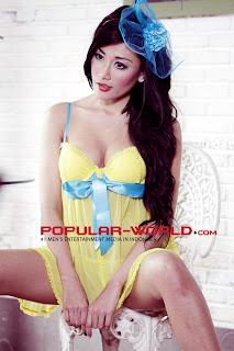 Tika Suhartono for Popular World February 2013