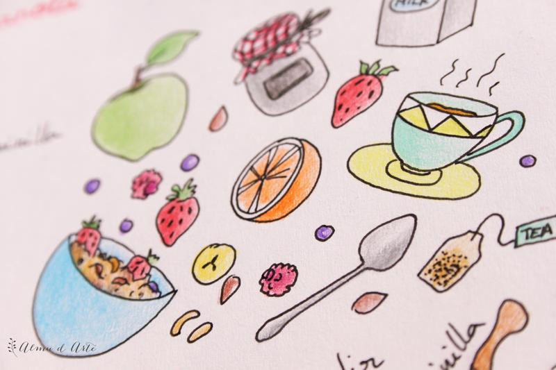 ilustracion de alimentos