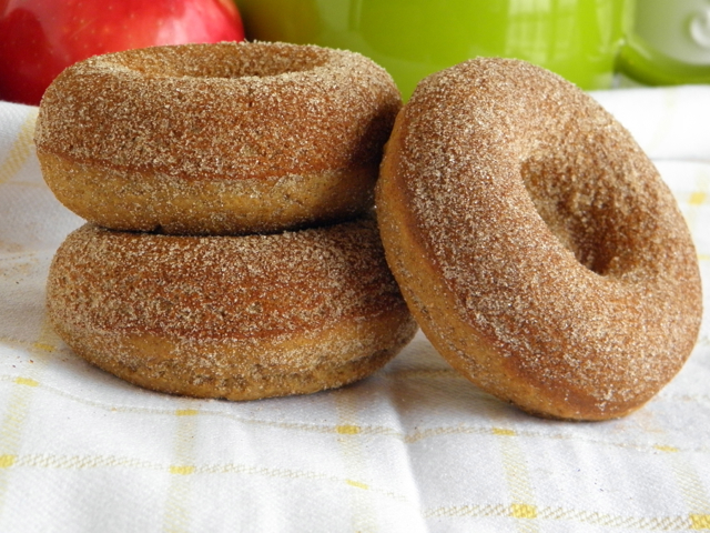 Baked Cider Donuts - taste love and nourish
