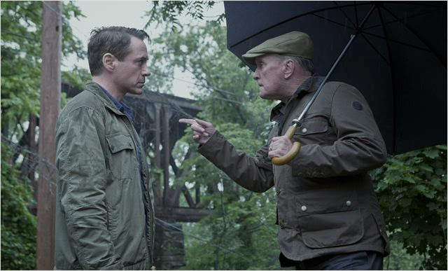 "Robert Downey Jr. y Robert Duval en ""El Juez"""