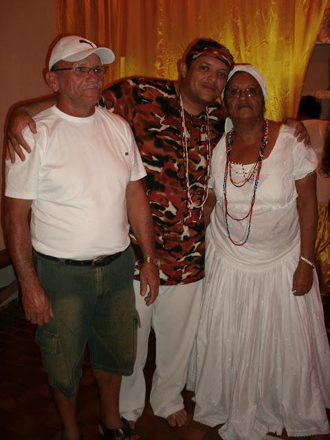 Meu Pai Augusto e Minha Mãe Ivonete de Ogum