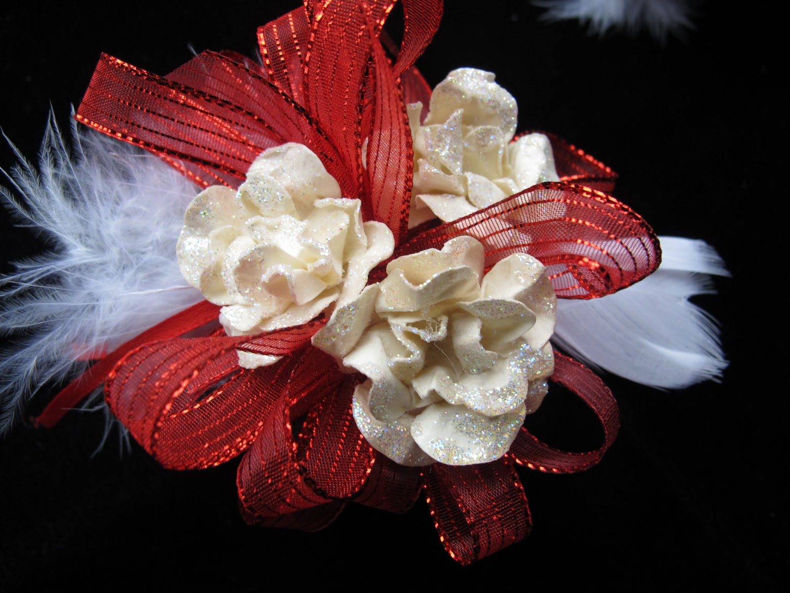 For The Love Of Art Snap Band Wrist Corsage