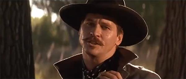 "Doc Holliday Val Kilmer Wallpaper Val kilmer como ""doc"" holliday"