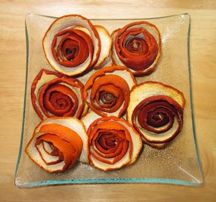 Flores de piel de naranja
