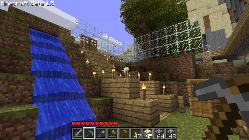 Casas en minecraft por dentro imagui - Fotos de casas del minecraft ...