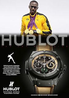 pub Hublot Usain Bolt montre King Power 48mm
