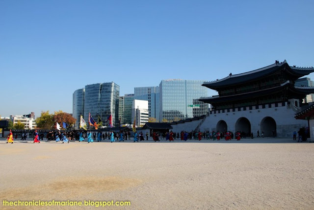 Gyeongbokgung Palace changing of guards