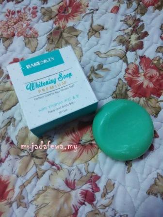 whitening soap, babeskin365, double serum babeskin, serum baik daripada krim, sabun cantik