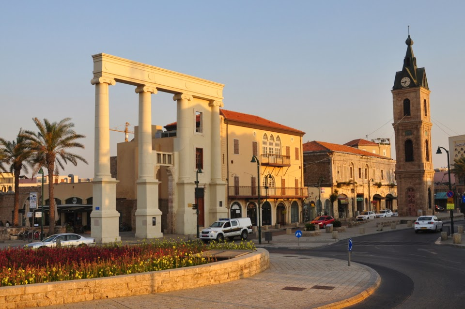 Clock tower of Jaffa
