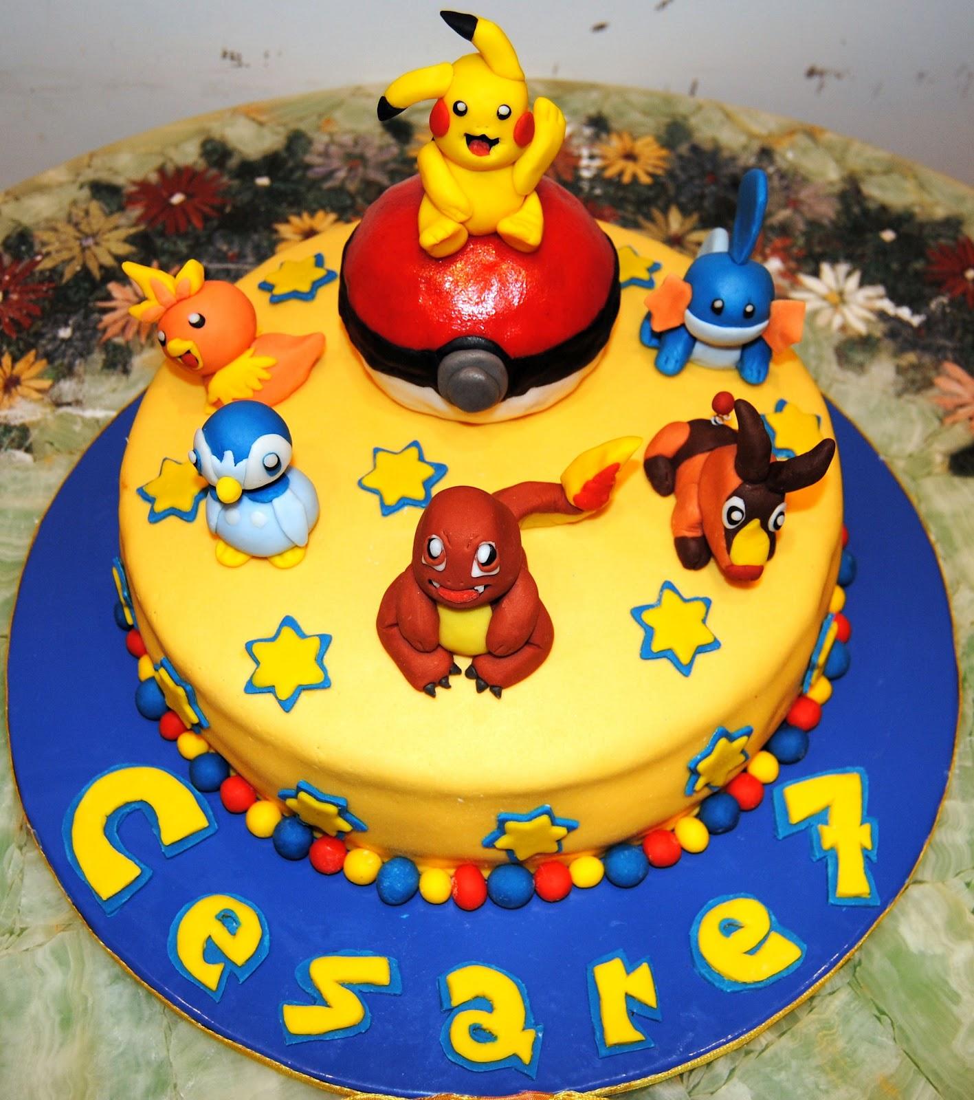tutti pazzi per le torte torta pokemon