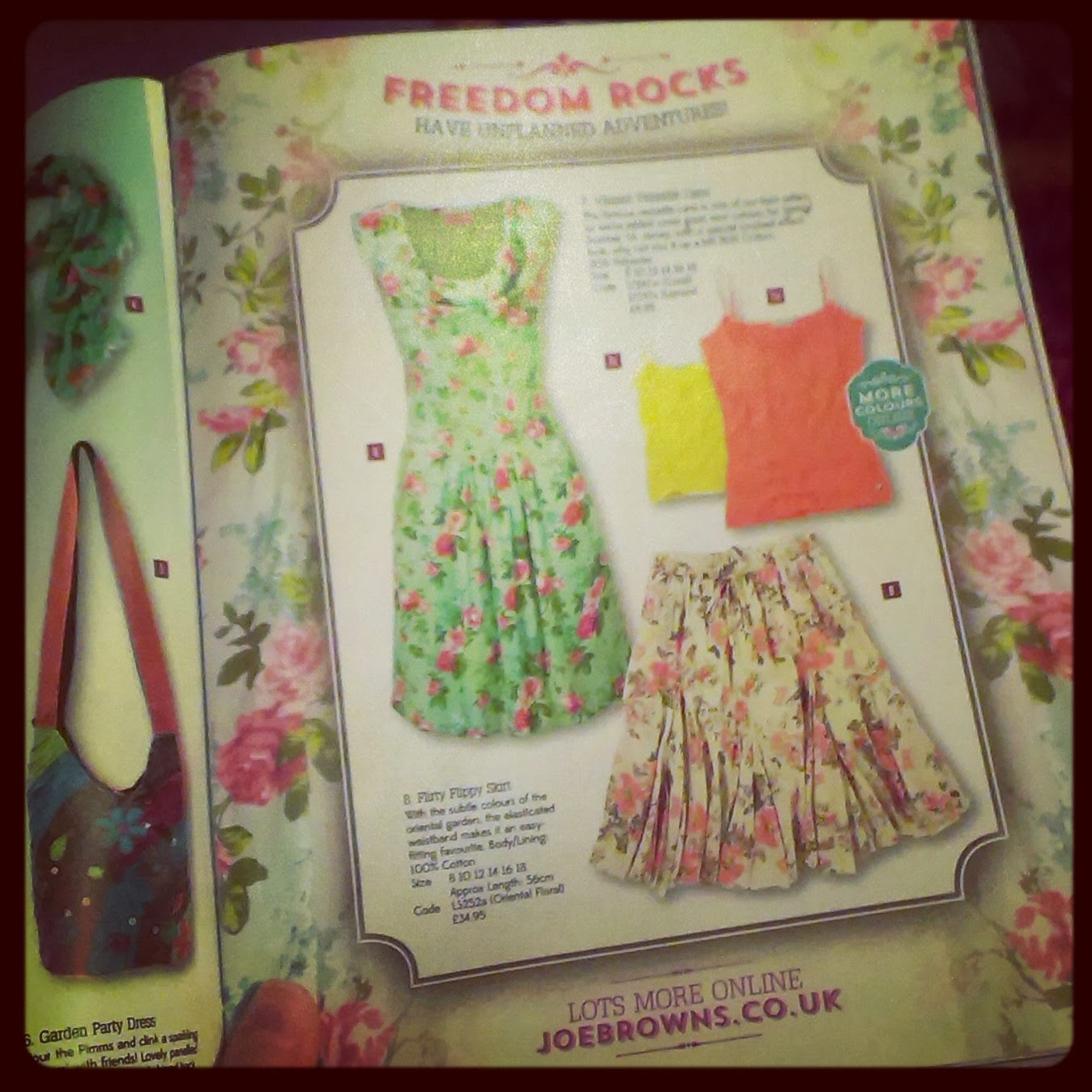 Joe Browns Spring Catalogue