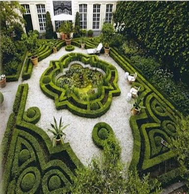 Desain Taman Rumah Elit