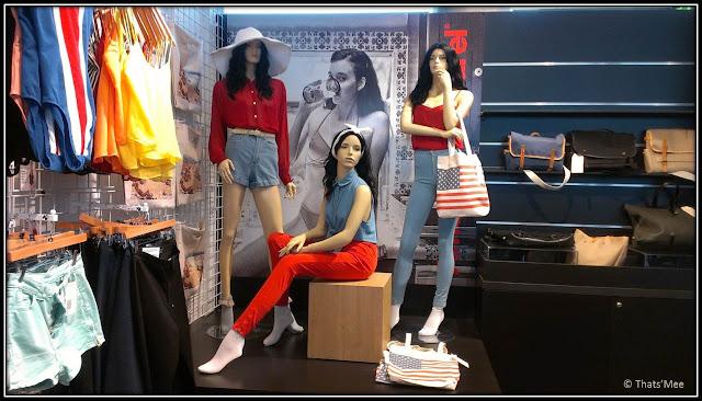Boutique éphémère American apparel MK2 Bibliothèque
