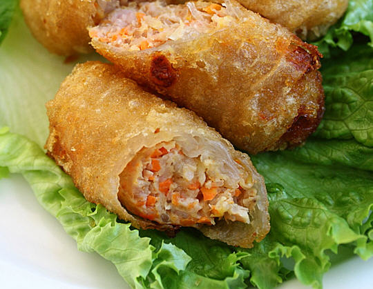 Vietnamese Recipe: Vietnamese BBQ Shrimp Vermicelli (Bun Tom Heo Nuong ...